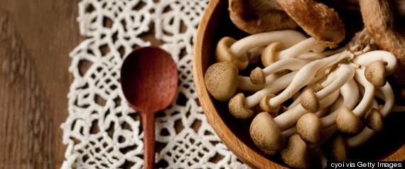 mushrooms bowl