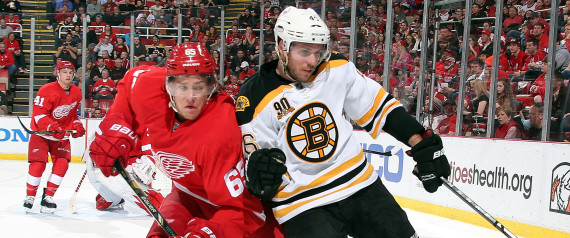 BRUINS RED WINGS