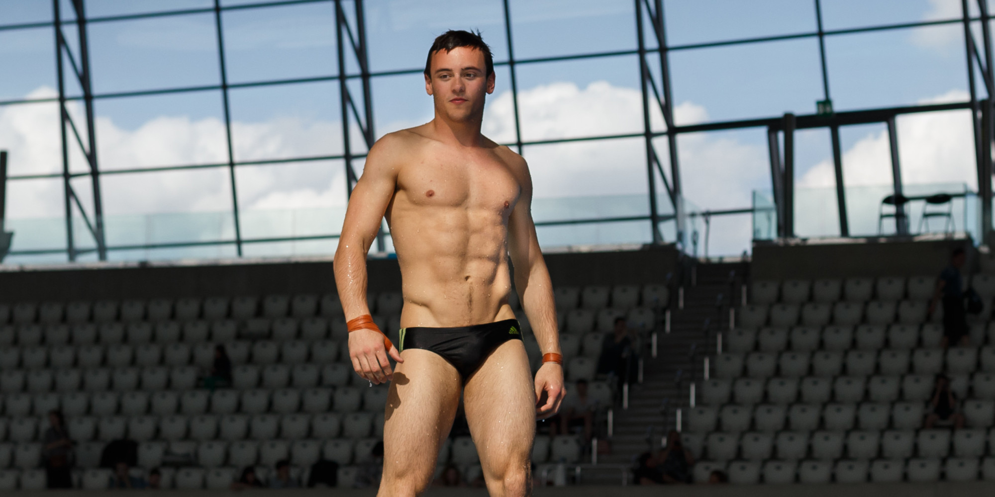 Tom Daley in swimwear