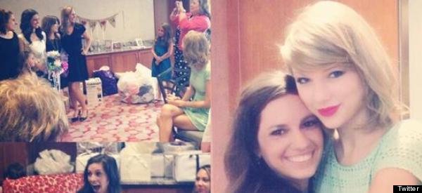 Surprise! Taylor Turns Up At Fan's Bridal Shower