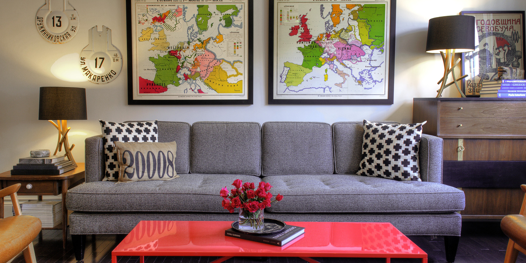 50 ways to update your living room for 50 or less photos for Image of a room