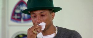 Pharrell Williams Crying Oprah