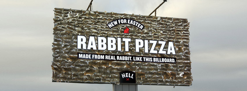 hell pizza rabbit