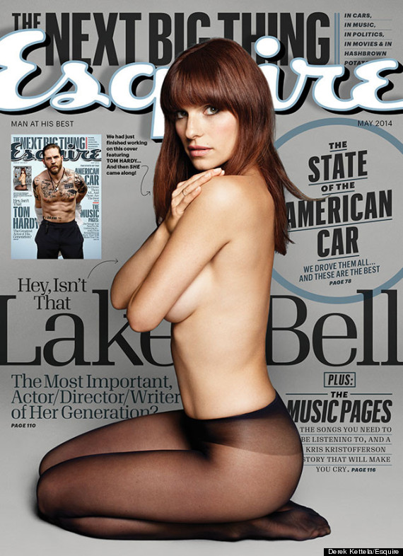 lake bell topless esquire