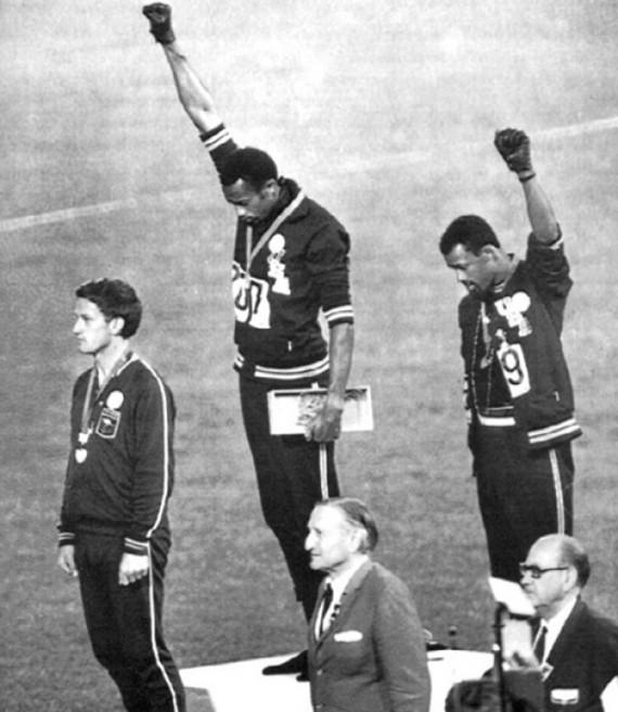 black power salute olympics