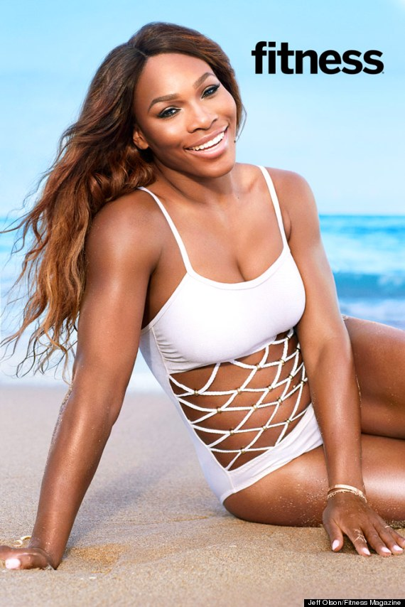 Williams hot serena beach