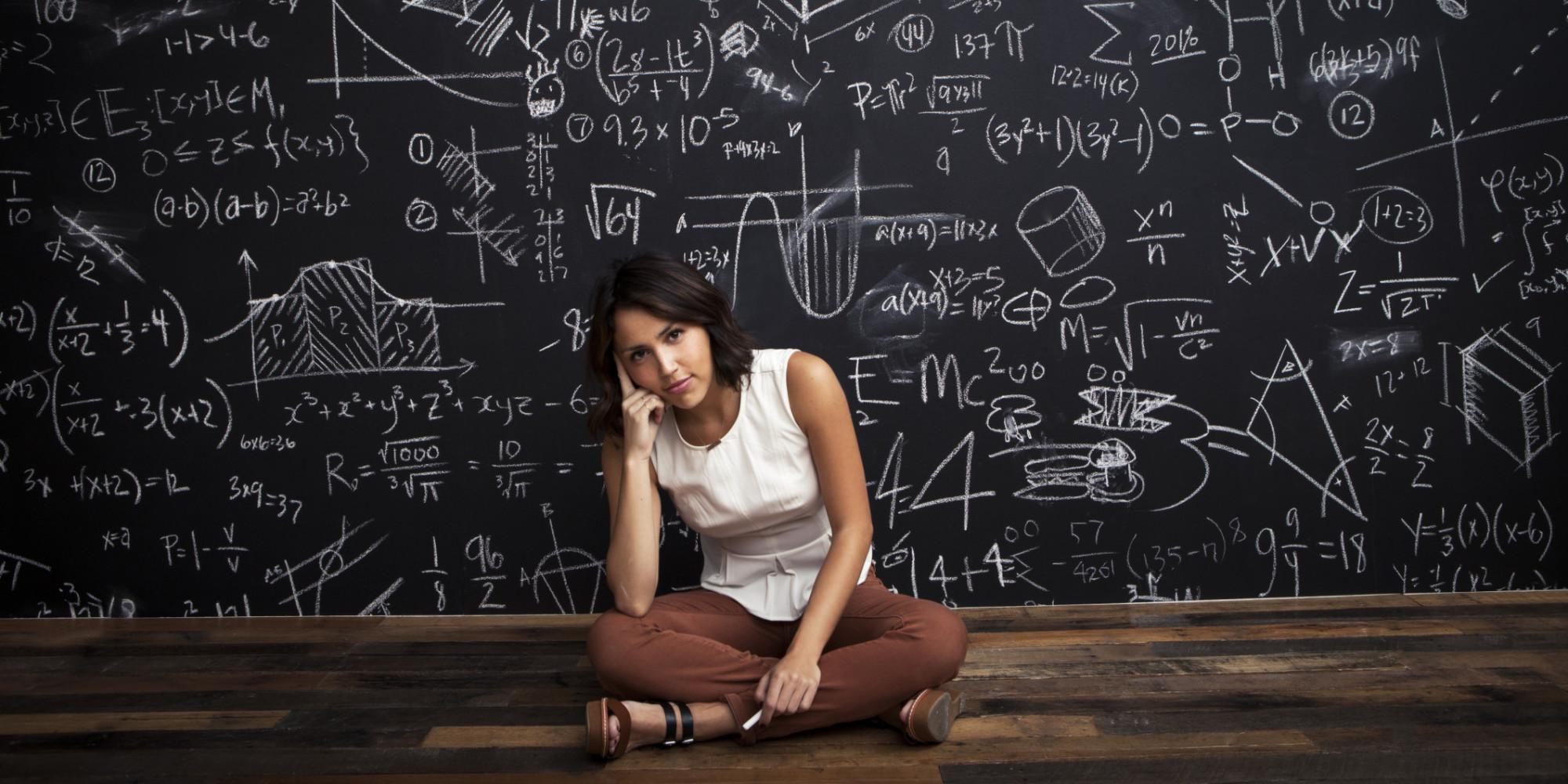 hot girls doing math