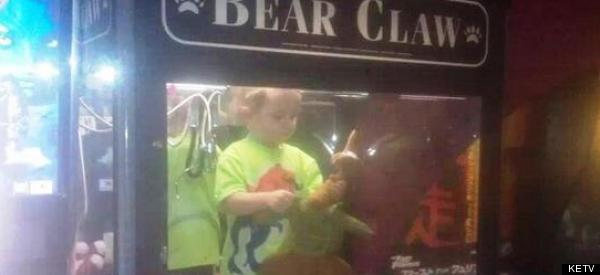 Boy Found Safe Inside Claw Crane Machine