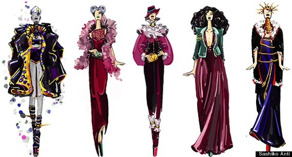 disney villain fashion