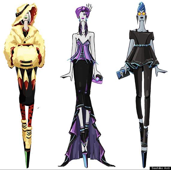 disney villain haute couture