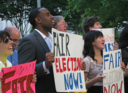 Fair Elections Protest