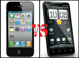 Iphone Vs Evo Vs Droid Incredible