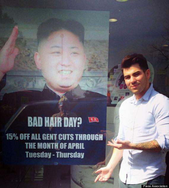 Barber Embassy : North Korean Embassy Hair Salon Spat Escalates As Officials Write To ...