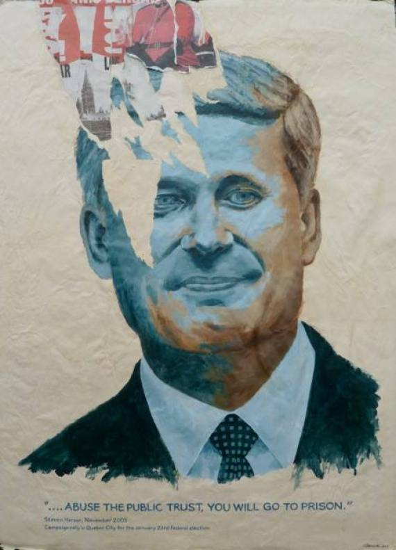 stephen harper art