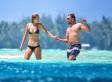 Leonardo DiCaprio And His Supermodel Girlfriend Toni Garrn Hit The Beach In Bora Bora