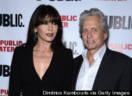 Catherine Zeta-Jones And Michael Douglas Are Just Some Friendly Exes