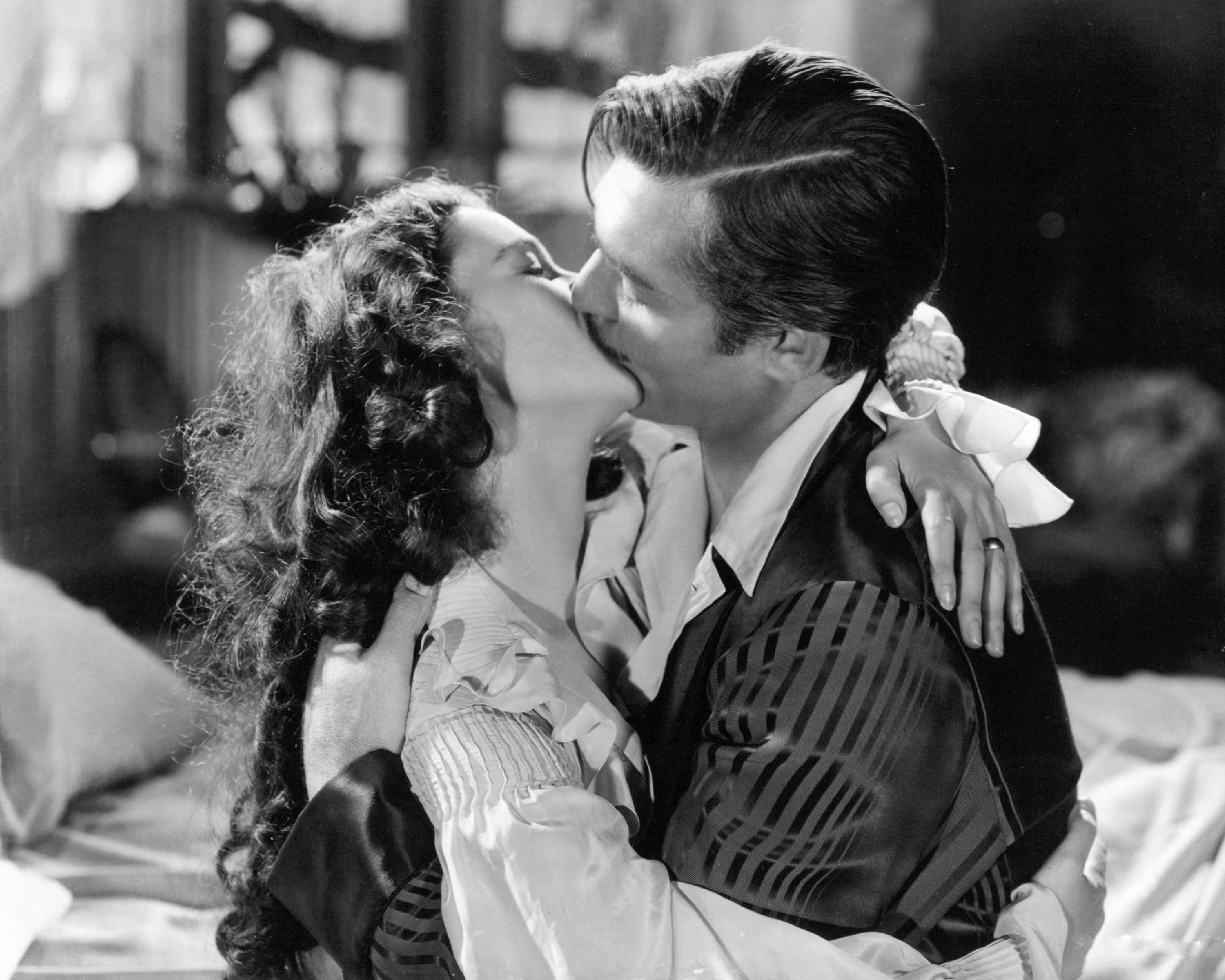vivian leigh and clark gable gone with the wind