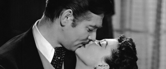 CLARK GABLE AND VIVIEN LEIGH AND GONE WITH THE WIN