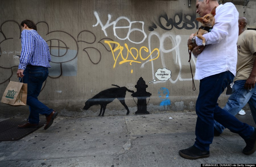 banksy street art nyc