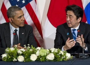Obama And Shinzo Abe