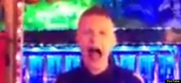 Teenager Gulps Down Live Goldfish At Funfair In Neknominate Stunt (VIDEO)