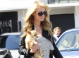 Paris Hilton's See-Through Purse Is Filled With Cash