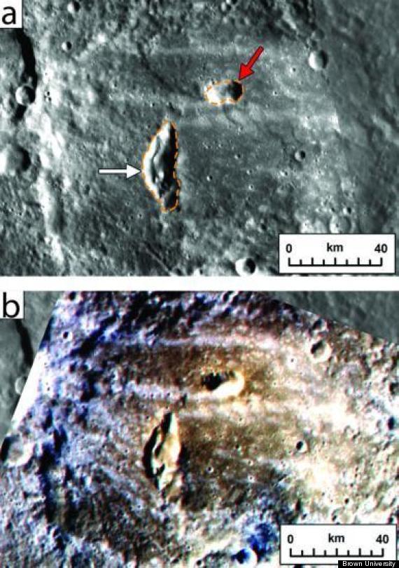 volcanoes mercury