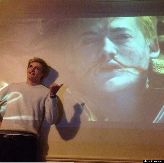 jack gleeson reaction to purple wedding