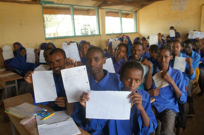 classroom dadaab
