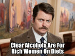 Ron Swanson Alcohol Meme