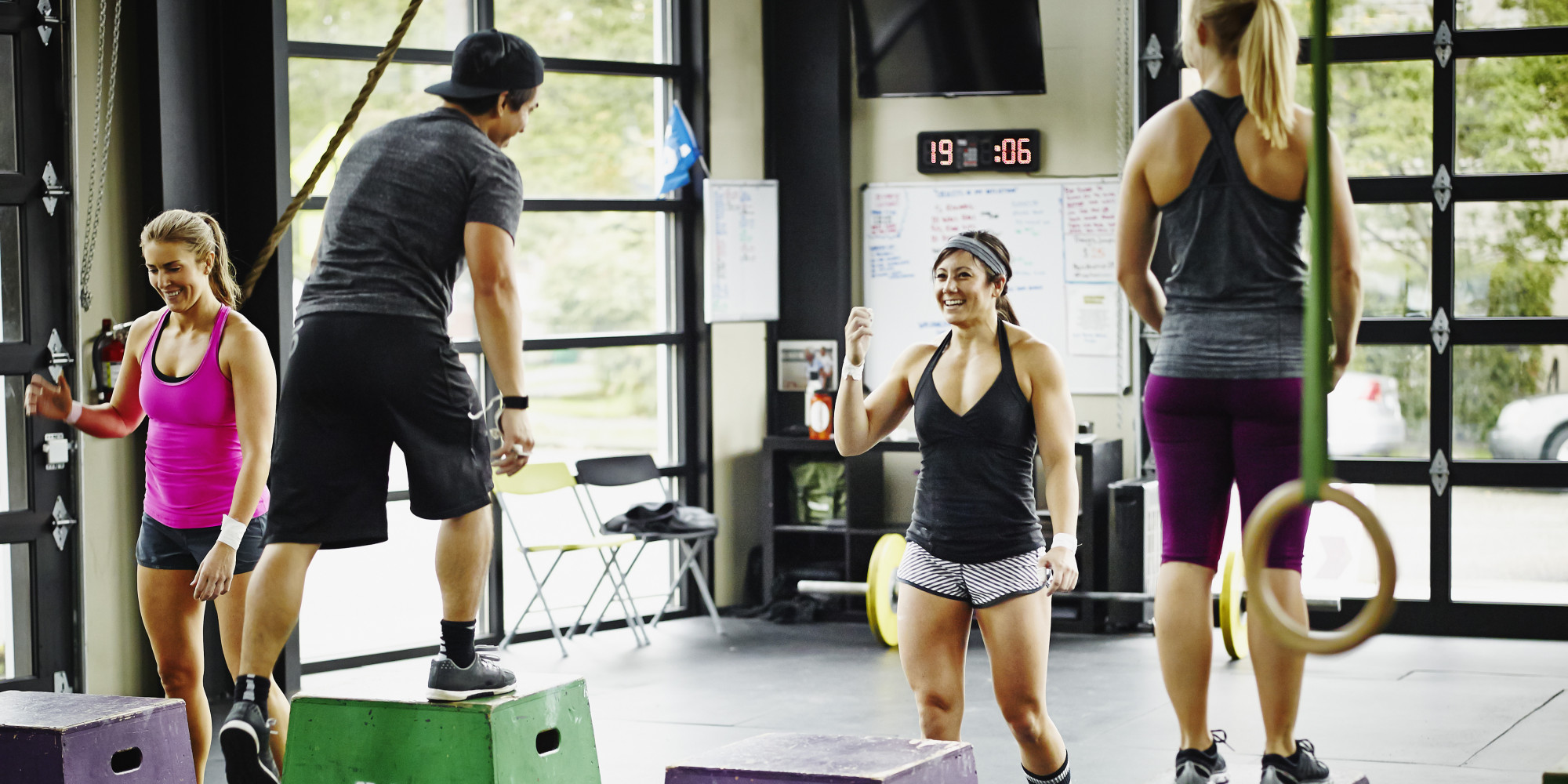 12 CrossFit Workouts Anyone Can Do