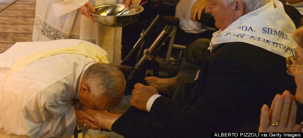 LIVESTREAM: Pope Francis Performs Second Maundy Thursday Foot Washing