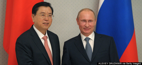 Russia And China Forge Closer Ties As EU Considers Sanctions