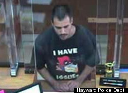 Alleged Bank Robber: 'I HAVE ISSUES'