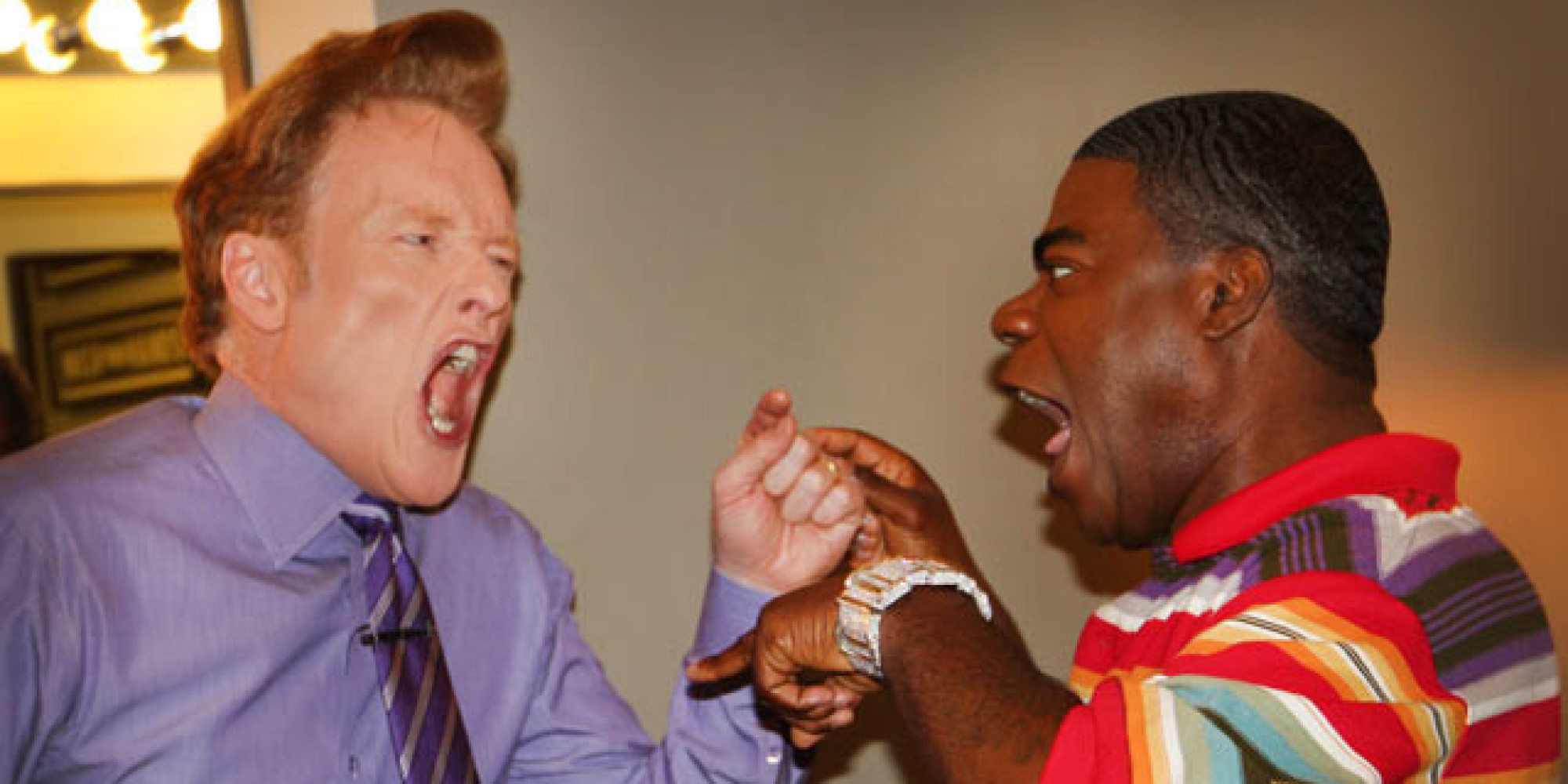 Caption This Tracy Morgan And Conan Get Into A Fight
