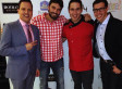 RAÚL Y CHEF JAMES: LA FIESTA DE SU RESTAURANTE (FOTOS)