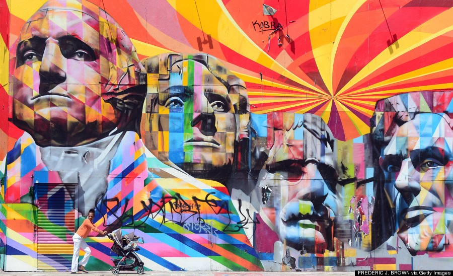 The 26 best cities in the world to see street art huffpost for Call for mural artists 2014