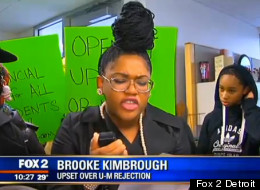 Black Student Holds Protest After Getting Rejected From Top University