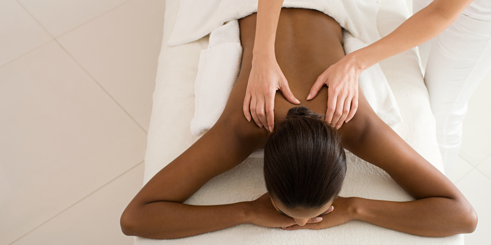 There's no denying a massage is calming -- until you start feeling guilty for indulging in a little special treatment. A small new study excuses us...