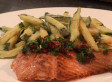 Recipe of the Week: Salmon With Zucchini Fritti