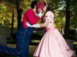 These Engagement Photos Are A Super Mario Fan's Dream Come True