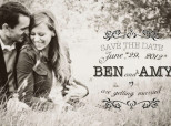 When Grooms Are In Charge Of Save-The-Dates, This Is Bound To Happen