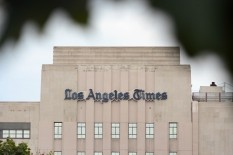 LOS ANGELES TIMES DOWNTOWN