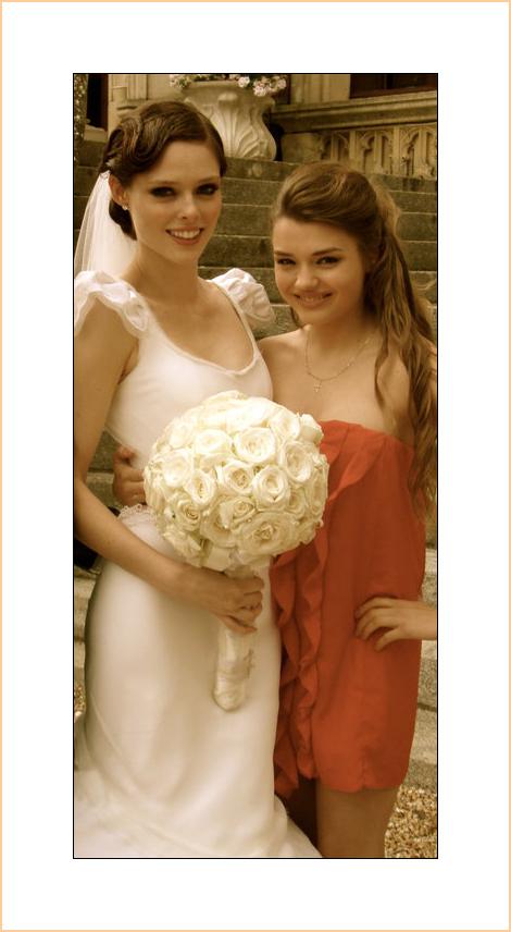 coco rocha wedding dress