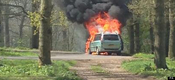 Longleat Safari Fire Mother Tells Of Fire/Lions 'Dilemma'