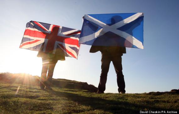 union jack scotland
