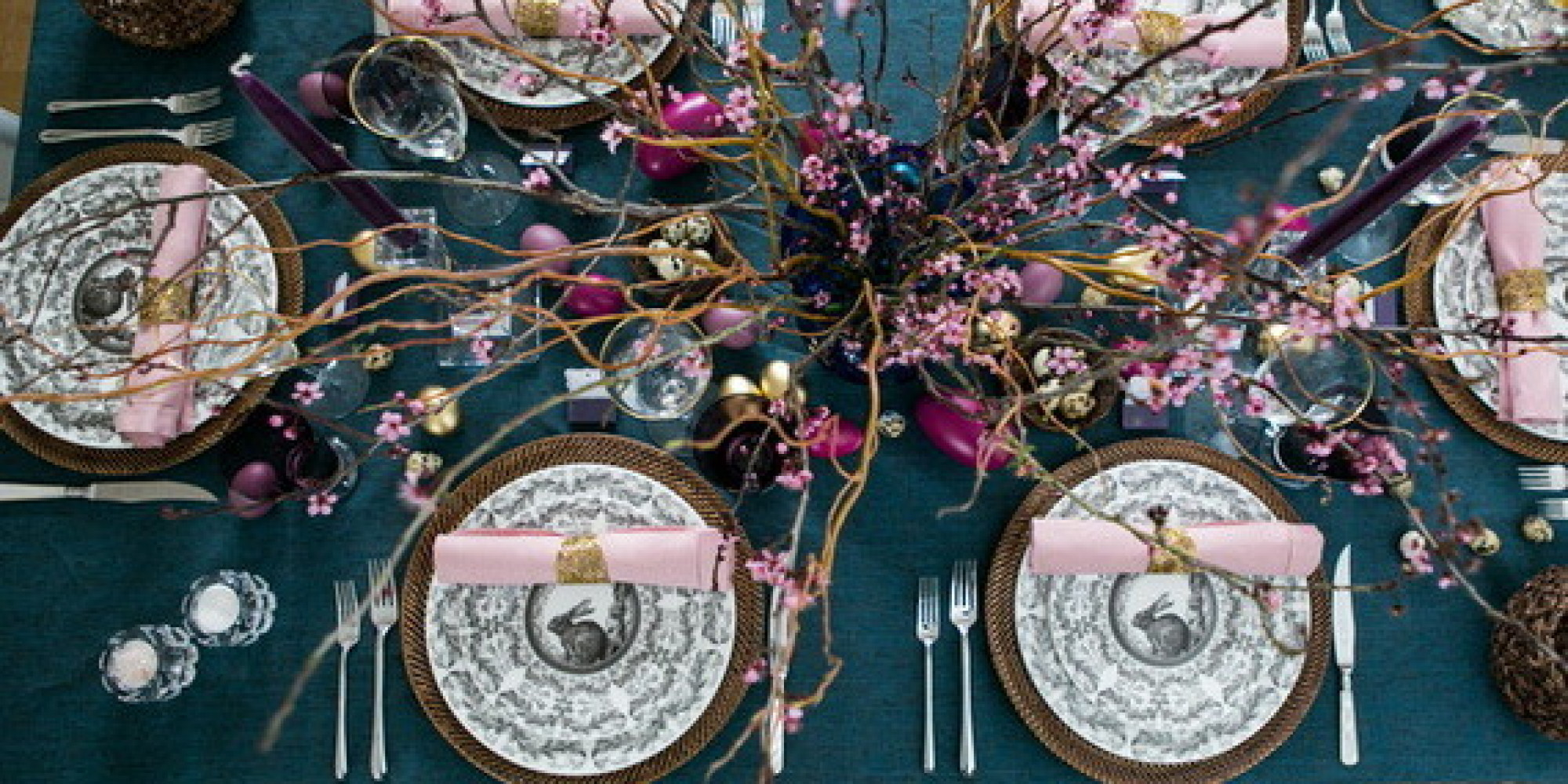 Elegant Easter Table Decor