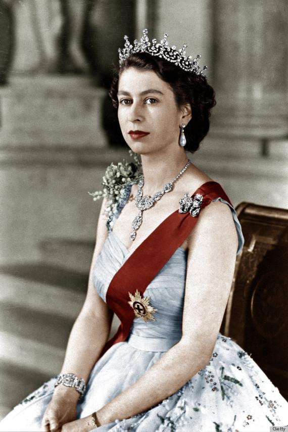 queen elizabeth bling