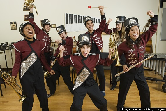 band geeks stereotypes in schools What were you in high school (nerd, brain, band geek, jock, druggie the notion that the geeks inherit the earth or what have you is a total myth perpetuate the stereotypes (of herself as well as others) and (b.