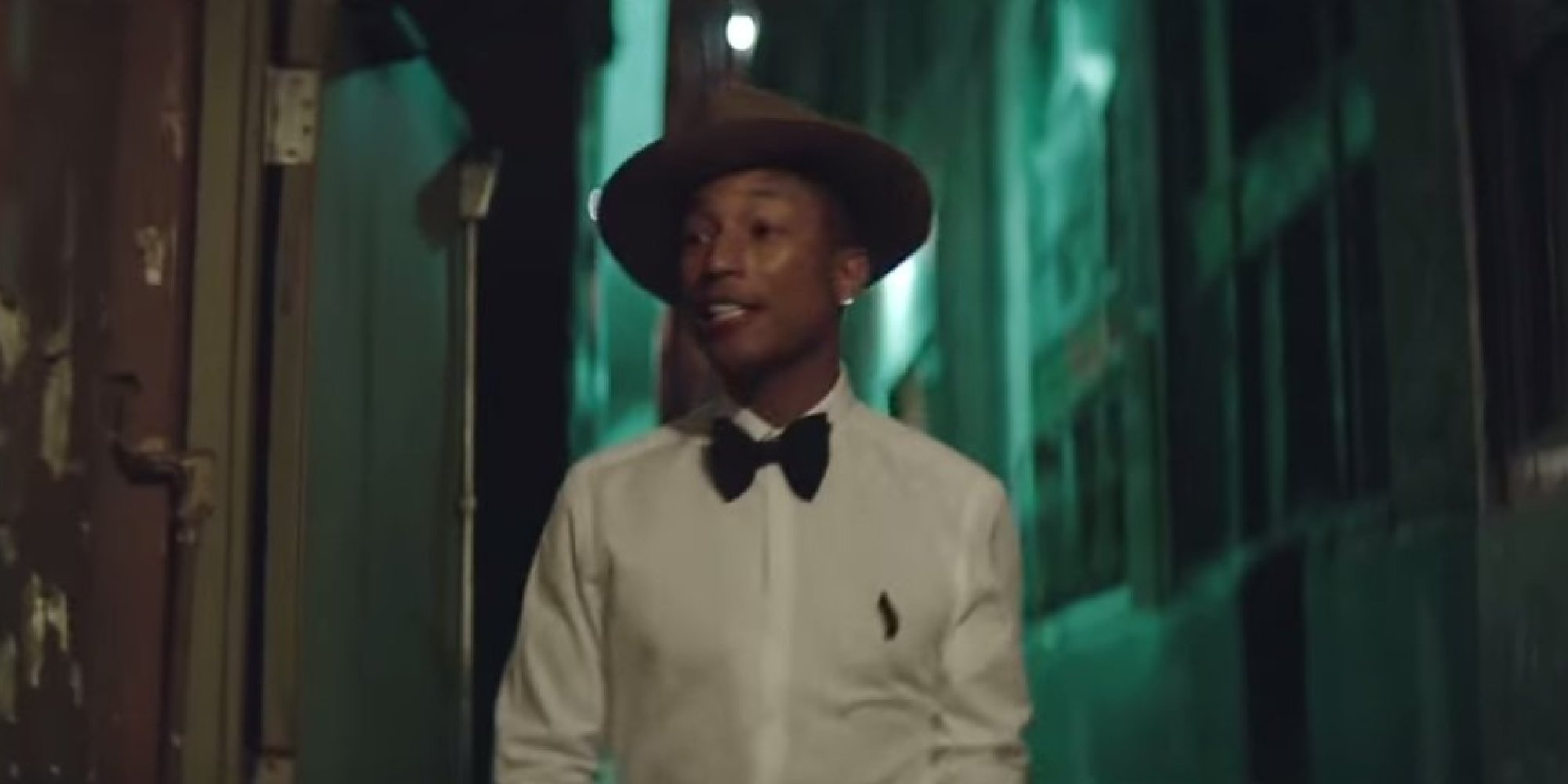 WATCH: Pharrell Williams' Happy Video - Without The Music ...
